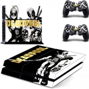 Deadpool Skin Sticker - Playstation 4