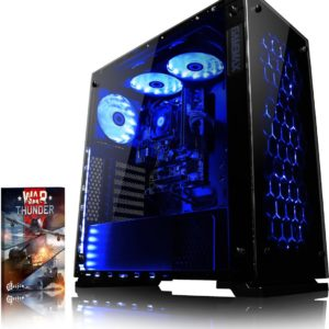 Nebula RS670-2 Game PC - 4.1GHz AMD 6-Core CPU, RX 470, VR Ready, Gaming Desktop PC met Levenslang Garantie (FX Zes-Core Processor, AMD Radeon RX 470 Videokaart, 8 GB RAM, 1 TB HDD, Zonder Windows OS)