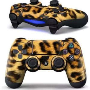 PS4 dualshock Controller PlayStation sticker skin | Luipaard - Panter