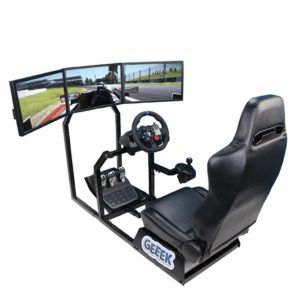 Racing Seat Gameseat Playseat Sensation Pro Simulator Inclusief 3 TV standaards