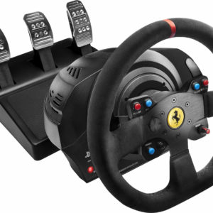Thrustmaster T300 Ferrari Integral Racing Wheel Alcantara Edition - PS4 + PS3 + PC