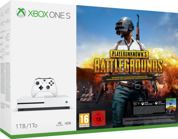 Xbox One S PlayerUnknown's Battlegrounds Console - 1 TB
