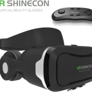 VR SHINECON 4.0 IMAX VR Bril + Bluetooth Gamepad / Remote Control