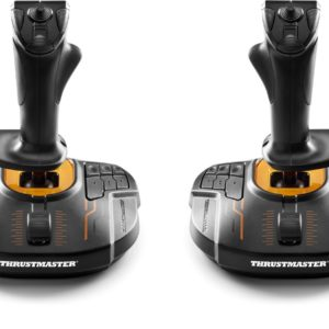 Thrustmaster T.16000M FCS SPACE SIM DUO Joystick PC Zwart, Oranje