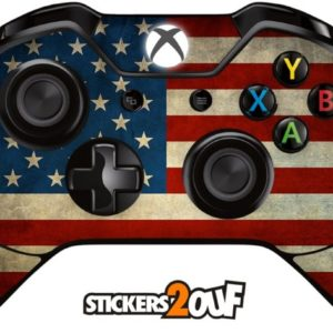 Xbox One USA Flag Sticker